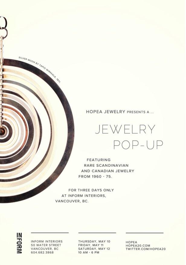 Hopea at Inform Interiors Trunk Show