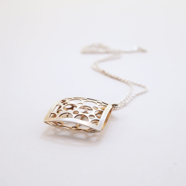 vintage scandinavian necklace by salovaara