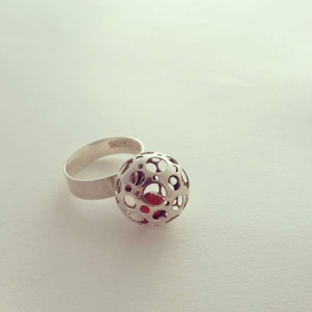 vintage scandinavian ring by liisa vitali