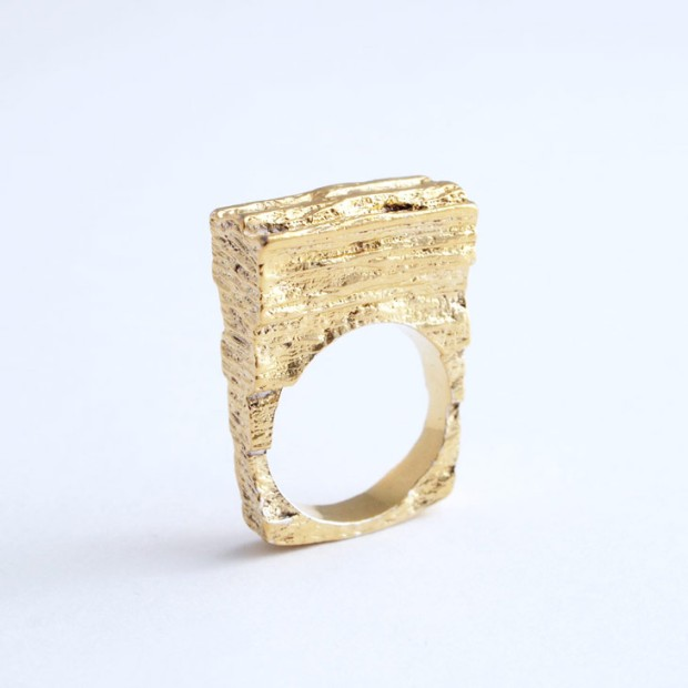 Anton Michelsen Gold Ring