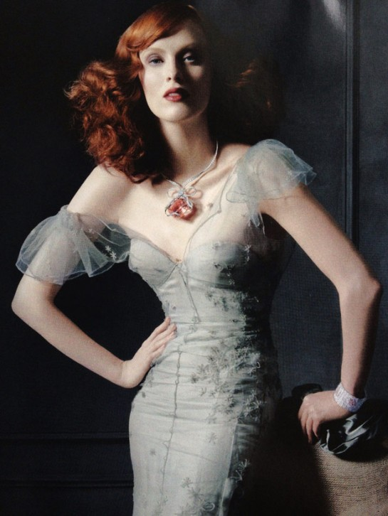 Karen Elson for Tiffany's Legacy 2012
