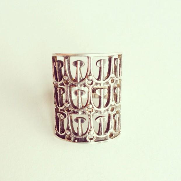 Vintage Scandinavian silver ring