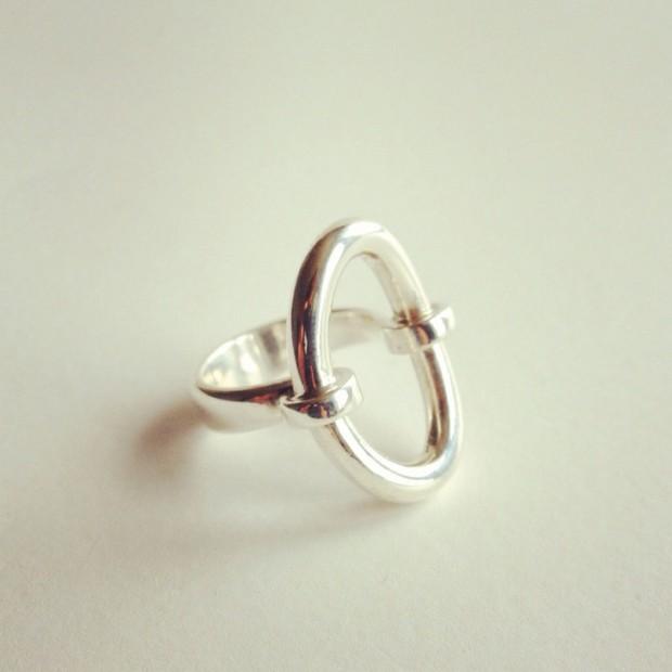 vintage hans hansen ring