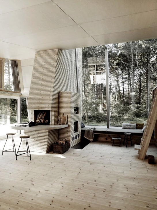 Danish cabin interior