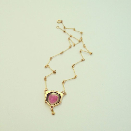 Gold Vintage Scandinavian Necklace