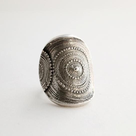 Vintage Silver Jorma Laine Ring