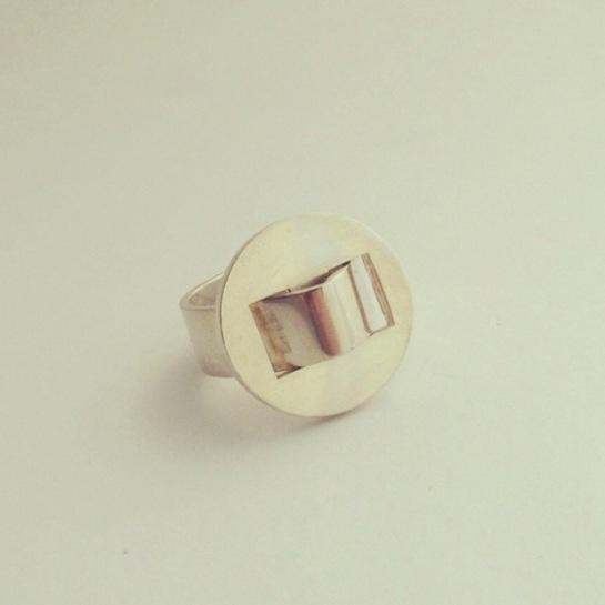 vintage silver Pekka Piekäinen Finland ring