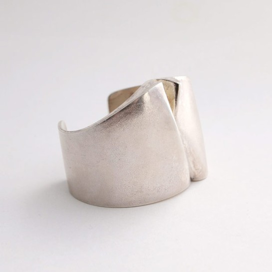 Bjorn Weckstrom Silver Ygol Bracelet