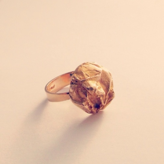 bjorn weckstrom gold ring for lapponia