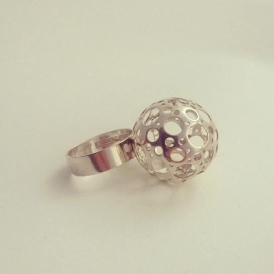 liisa vitali silver ring