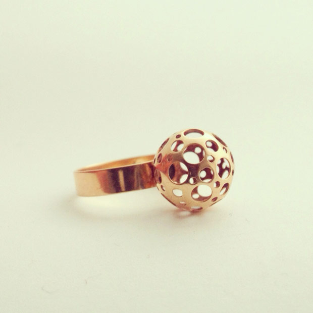 gold liisa vitali ring
