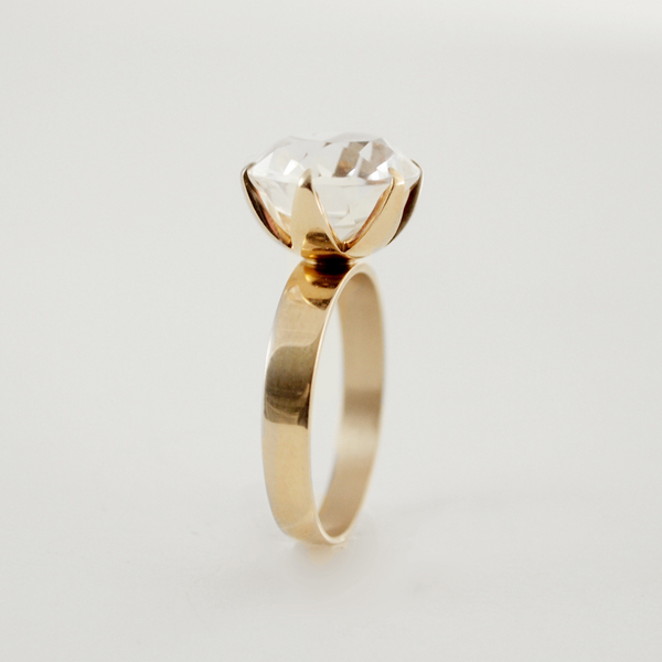 vintage gold rings from Finland HOPEA