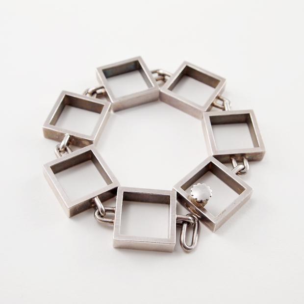 Hans Hansen silver bracelet
