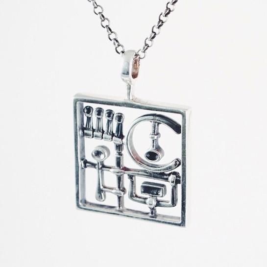 jorma laine silver necklace